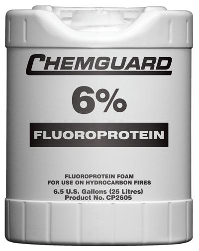 Fluroprotein Agent Based Foam