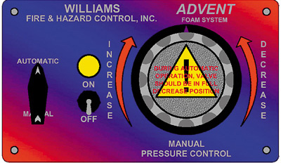 Advent Balanced Pressure Foam Systems