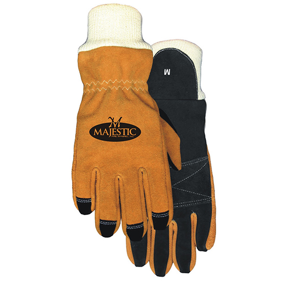 STRUCTURAL FIREFIGHTING GLOVE KEVLAR WRISTLET