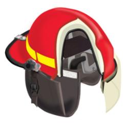 Bullard FX Series Fire Helmet