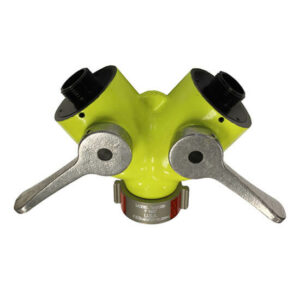 HIGH VISIBILITY 1″ FEMALE INLET WITH 2 X 1″ MALE OUTLETS MODEL # WV1010 HIGH VIZ®