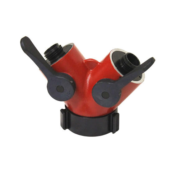 2 1/2″ FEMALE INLET WITH 2 X 1″ MALE OUTLETS MODEL