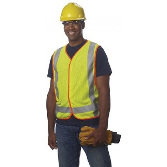 Class 2 FR/ARC Mesh Vest – Adjustable snap sides