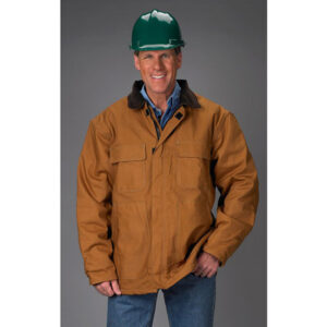 FR Brown Duck Industrial Jacket