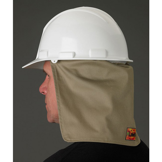 FR Hard Hat Neck Shade
