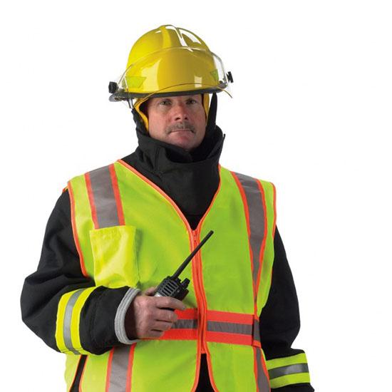 Open Side Incident Command Vest Set