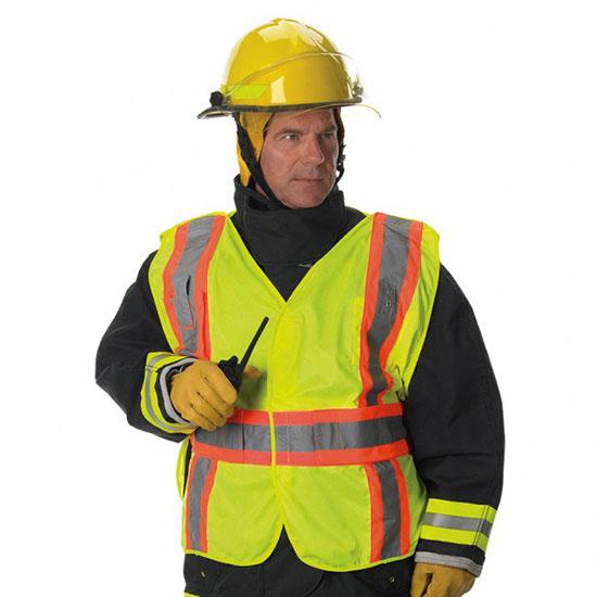 Premium Solid 5 Point Break-away Public Safety Vest